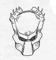 how to make a predator mask