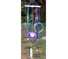 Easy homemade wind chime ideas ehow for Wind chimes homemade crafts