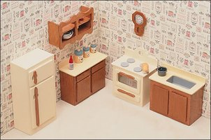 how to make your own doll house furniture ehow. Black Bedroom Furniture Sets. Home Design Ideas