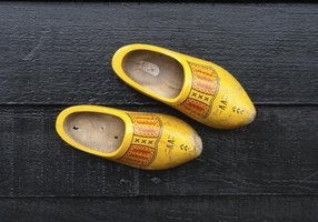 The History Of Dutch Wooden Clogs | EHow