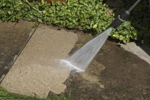 How to use muriatic acid to clean concrete ehow for Clean rust off concrete patio