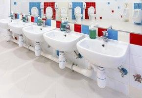 Ideas to make my preschool bathroom fun for children ehow for Preschool bathroom ideas