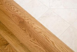 How To Install A Threshold Over Ceramic Tile Amp Hardwood