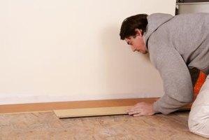 Gevelbekleding schilderen: krassen pvc vloer