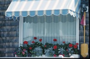 Diy Stationary Window Awning Using Pvc Pipe 5 Steps Ehow