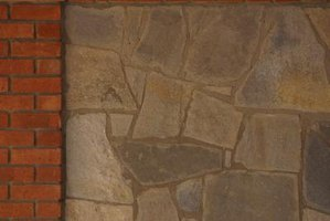 How to Reface a Brick Fireplace With Slate Tiles   eHow