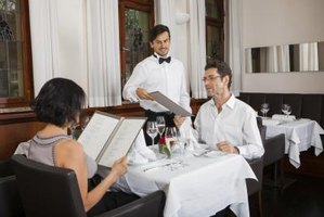 Waiter Etiquette For Fine Dining Ehow
