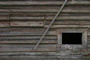 How To Chink A Log Cabin 4 Steps Ehow