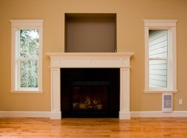 Proper Fireplace Mantel Height Ehow
