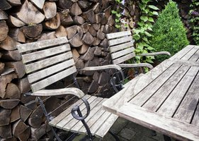How To Clean Outdoor Wood Furniture Ehow