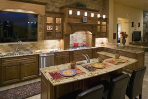 kitchen counter display ideas ehow