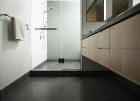 How to Install Tile Floor in an Upstairs Bathroom thumbnail