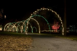 diy christmas light arches ehow