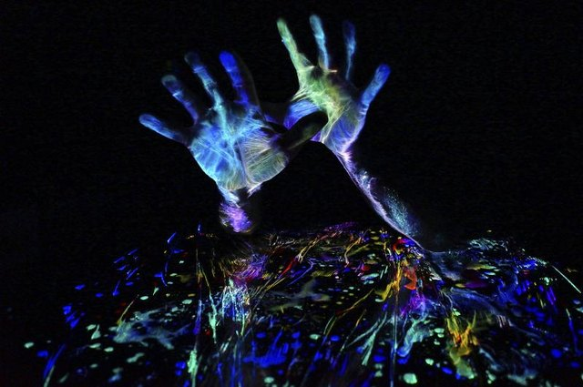 also use uv reactive body paint to light up your clothes in the dark. Black Bedroom Furniture Sets. Home Design Ideas