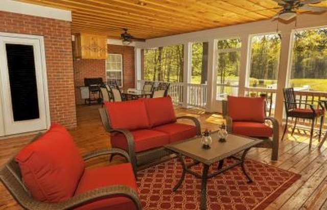 Sunroom flooring ideas with pictures ehow for Sunroom flooring ideas
