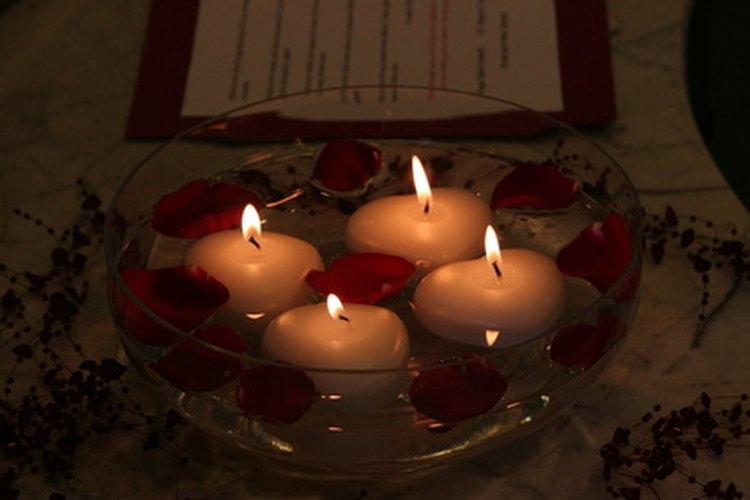 Свечи плавающие своими руками 120