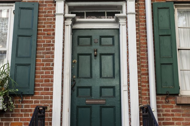 The Best Paint Colors For Front Doors Of Brick Homes EHow