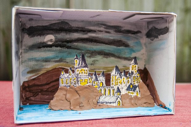 How To Make A Diorama For A Book Report  With Pictures