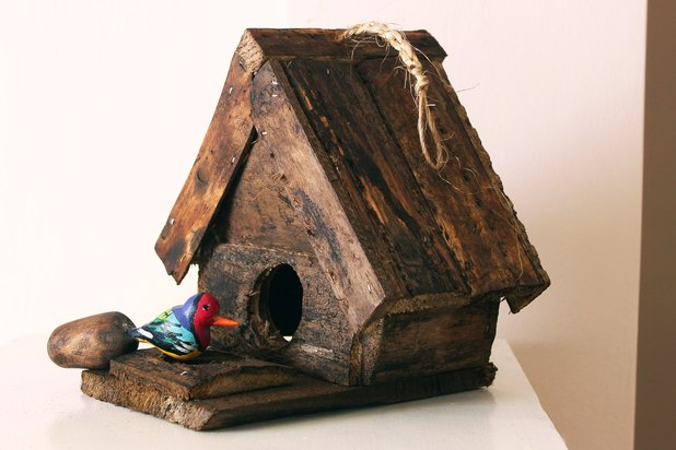 birdhouse can be either practical or simply decorative. (Photo ...