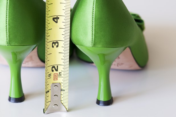How To Measure The Height Of A Heeled Shoe