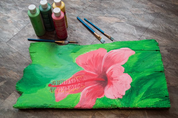 How To Use Acrylic Paint On Wood With Pictures Ehow