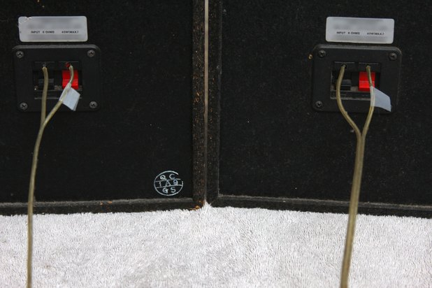Positive And Negative Speaker Wire : How to determine negative vs positive lead in speaker