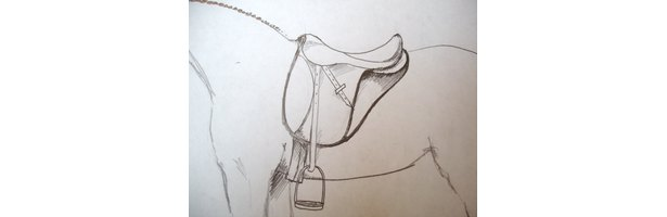 How to Draw a Saddle on a Horse (13 Steps) | eHow