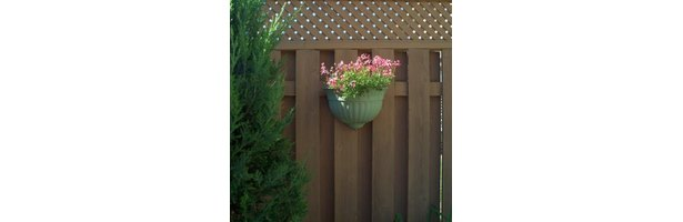How To Frame A Lattice Panel For A Privacy Fence Ehow