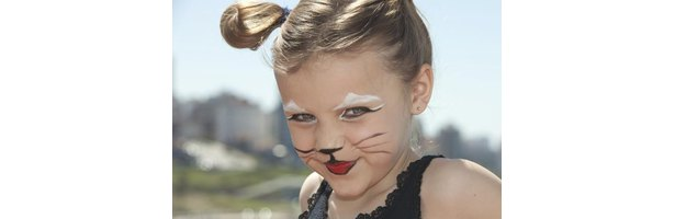How to Add Whiskers to Halloween Cat Makeup | eHow
