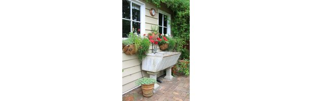 How To Get Rid Of An Old Cement Laundry Tub 7 Steps Ehow