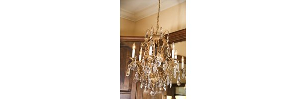 things to make with old chandelier crystals ehow