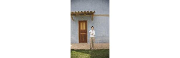 How To Build A Roof Overhang Over An Exterior Door Ehow