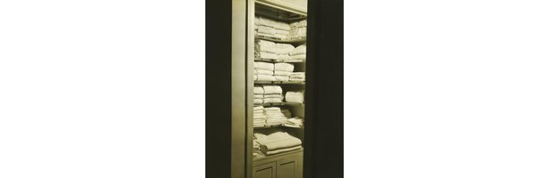 how to build a linen closet in a bathroom