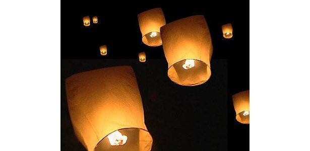 How to Make Flying Paper Lanterns thumbnail