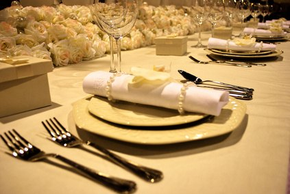 Ideas for Folding Napkins thumbnail The folded cloth napkin can add a touch
