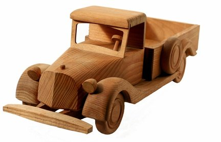 Wooden Toy Truck PDF Plans submited images.