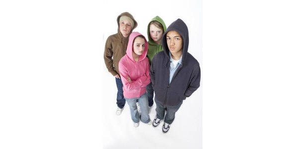 Hoodies have become a staple in many teens' wardrobes.
