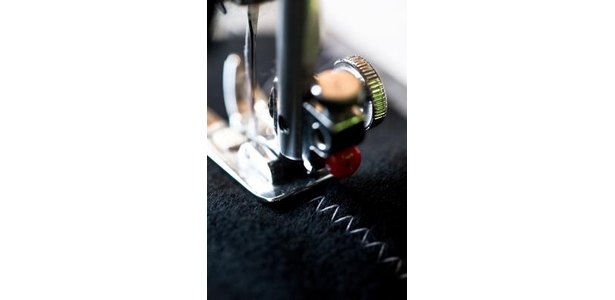 How to Monogram With a Decorative Stitch on a Sewing Machine | eHow