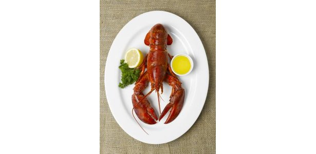 lobster and melted butter
