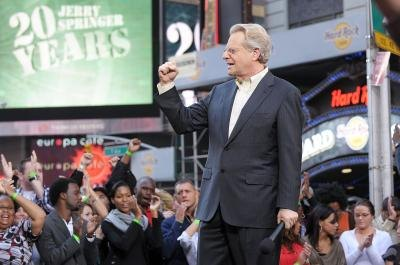 Jerry Springer Jerry Beads Video http://www.ehow.com/how_5830064_tickets-jerry-springer-show.html