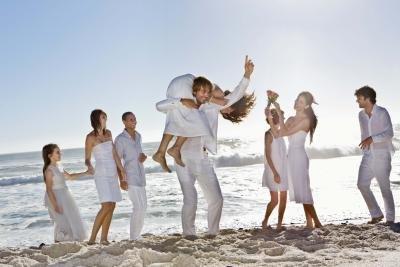 Comfortable Suit Shirts Ties Perfect Beach Wedding Attire - WEDDING ...