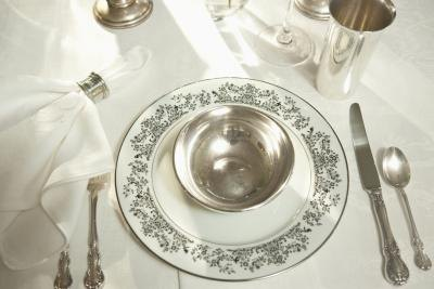 What Is the Proper Placement of Silverware? | eHow