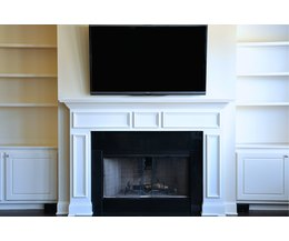 How To Mount A Flat Screen Over The Fireplace And Hide The Wires Ehow