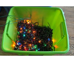 The Best Way to String Christmas Tree Lights (with Pictures) eHow