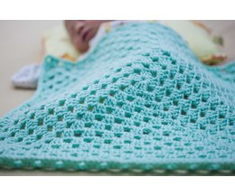 How To Crochet A Granny Square Step By Step Video How To Crochet A Baby Blanket Step By Step