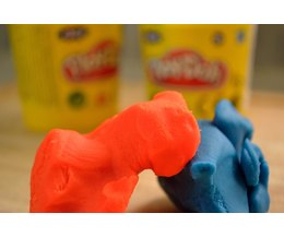 Baking Play Doh Ehow