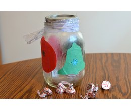 how to decorate ball jars for christmas ehow
