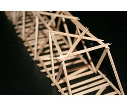 How To Build A Toothpick Bridge 9 Steps Ehow
