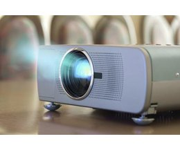 projector producing picture on wall photo brian jackson istock getty