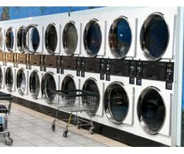 how much does a coin operated washing machine cost